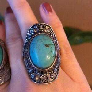 Jewelry - 🌵Boho ring EUC